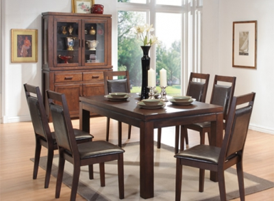 Home - Elements (Dining Dark Wood)
