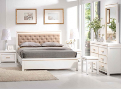 Home - Element (Bed White)